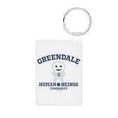 Greendale Human Beings Keychains