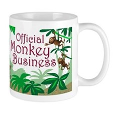 Monkey Business Mugs