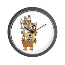 Bla Bla Bla Wall Clock