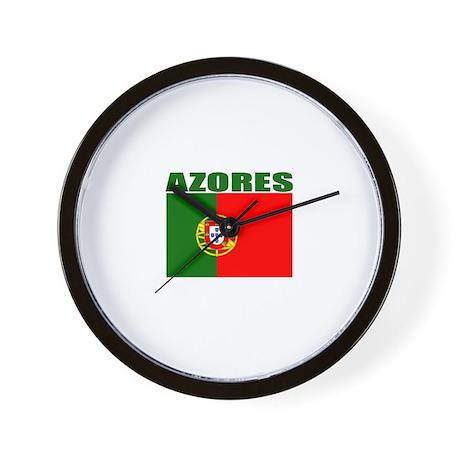 Azores, Portugal Wall Clock