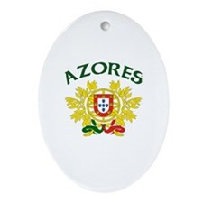 Azores, Portugal Oval Ornament