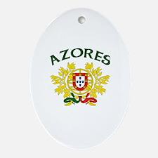 Azores, Portugal Oval Ornament