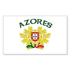 Azores, Portugal Rectangle Decal