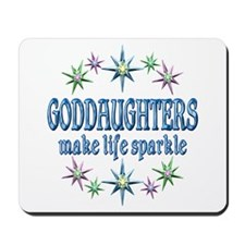 GODDAUGHTERS SPARKLE Mousepad