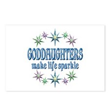 GODDAUGHTERS SPARKLE Postcards (Package of 8)