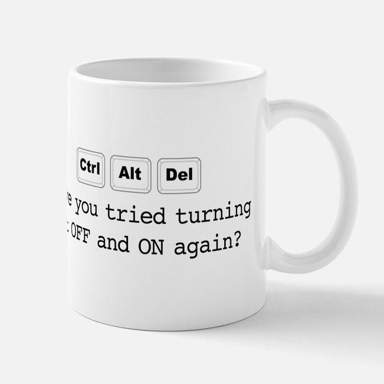 Ctrl Alt Del Mugs