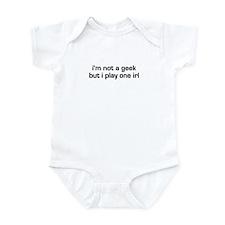 Geek IRL Funny RPG Infant Bodysuit