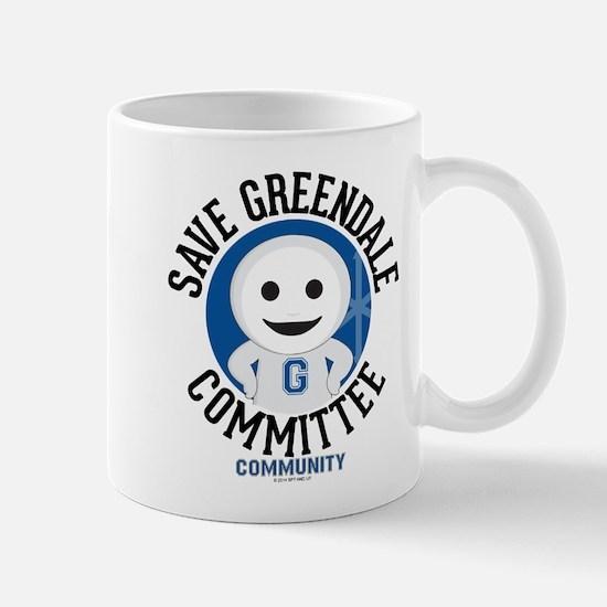 Save Greendale Committee Mug