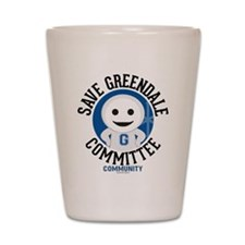 Save Greendale Committee Shot Glass