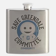 Save Greendale Committee Flask