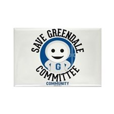 Save Greendale Committee Rectangle Magnet