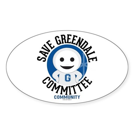 SaveGreendale-Light Sticker