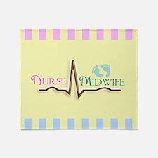 Nurse Midwife 5 Throw Blanket