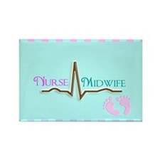 Nurse Midwife 4 Magnets