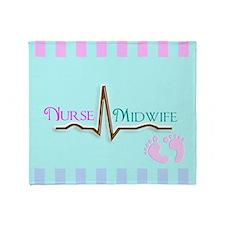 Nurse Midwife 4 Throw Blanket