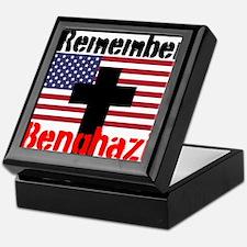 Remember Benghazi Keepsake Box