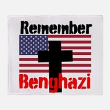 Remember Benghazi Throw Blanket