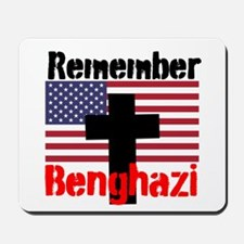 Remember Benghazi Mousepad