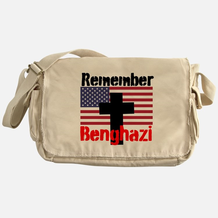 Remember Benghazi Messenger Bag