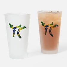 Capoeira Drinking Glass