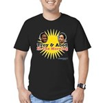 Troy and Abed in the M Men's Fitted T-Shirt (dark)