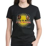 Troy and Abed in the Morning Women's Dark T-Shirt