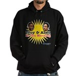 Troy and Abed in the Morning Hoodie (dark)
