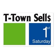 T-town Sells Postcards (Package of 8)