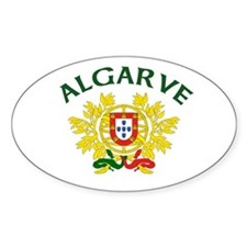 Algarve, Portugal Oval Decal