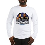 Troy and Abed Superheroes Long Sleeve T-Shirt