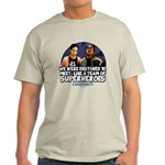 Troy and Abed Superheroes Light T-Shirt
