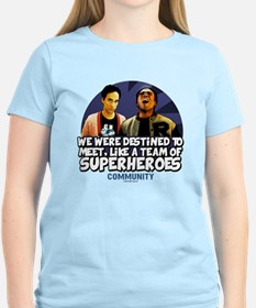 Troy and Abed Superheroes T-Shirt