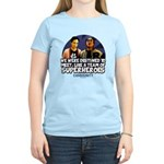 Troy and Abed Superheroes Women's Light T-Shirt