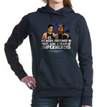 Troy and Abed Superheroe Women's Hooded Sweatshirt
