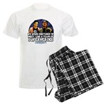 Troy and Abed Superheroes Men's Light Pajamas