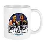 Troy and Abed Superheroes Mug