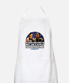 Troy and Abed Superheroes Apron