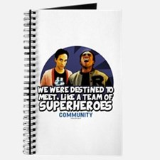 Troy and Abed Superheroes Journal