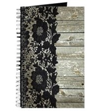 grey barn wood lace western country Journal