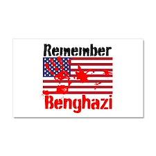 Remember Benghazi Car Magnet 20 x 12