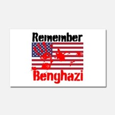 Remember Benghazi Car Magnet 20 x 12