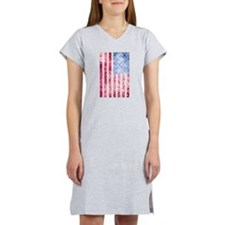 4th of July - American Firework Flag Women's Night