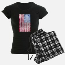 4th of July - American Firework Flag Pajamas