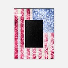 4th of July - American Firework Flag Picture Frame