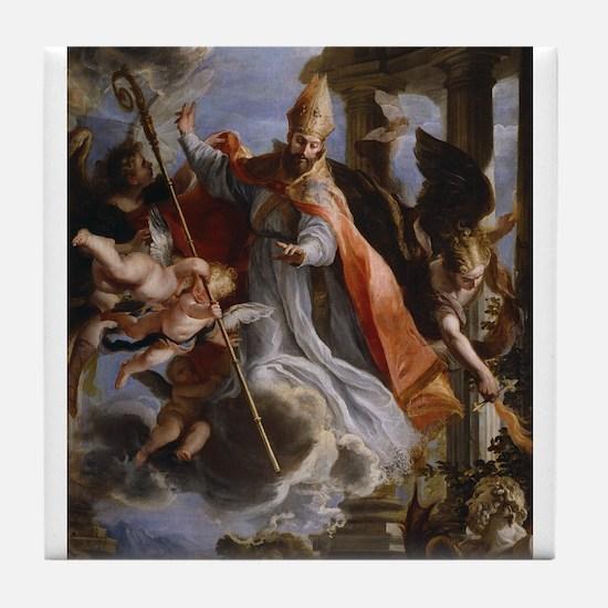 Claudio Coello - Triumph of St Augustine - 1664 -