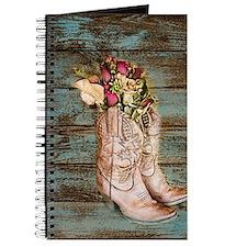 modern cowboy boots barn wood Journal