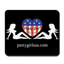 Party Girl USA Mousepad