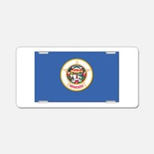 Flag of Minnesota Aluminum License Plate