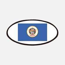 Flag of Minnesota Patches