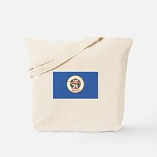 Flag of Minnesota Tote Bag